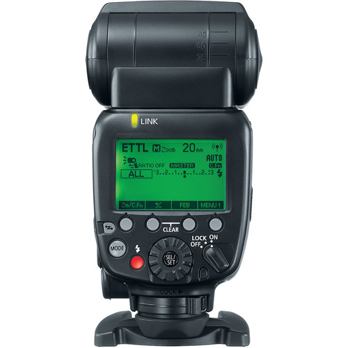 Canon Speedlite 600EX II-RT back