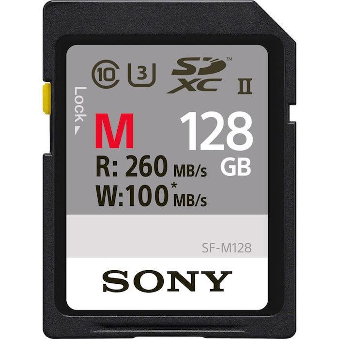 Sony 128GB SDXC UHS-II Memory Card