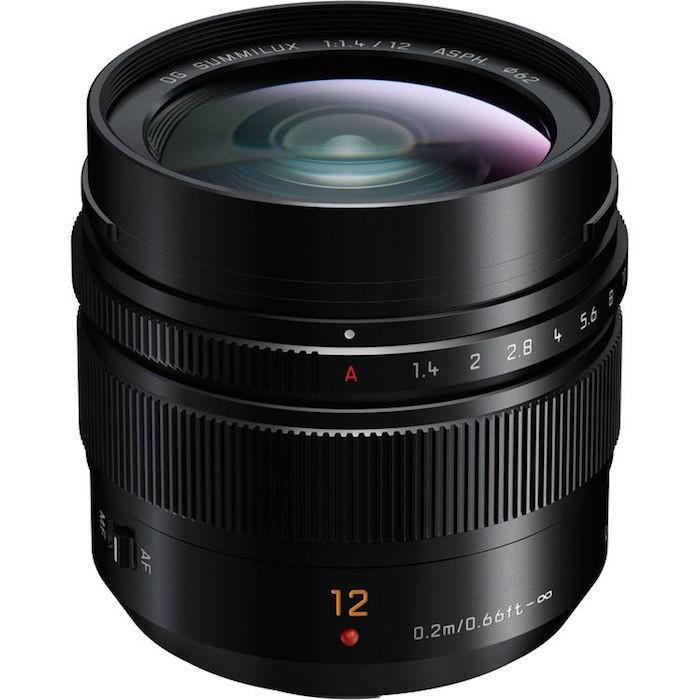 Panasonic Leica DG Summilux 12mm f1.4 ASPH. Lens
