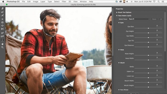 Photoshop CC Update Face-Aware Liquify