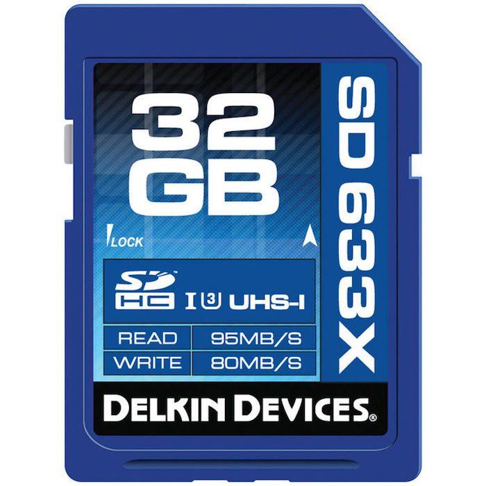 Delkin SDHC Card