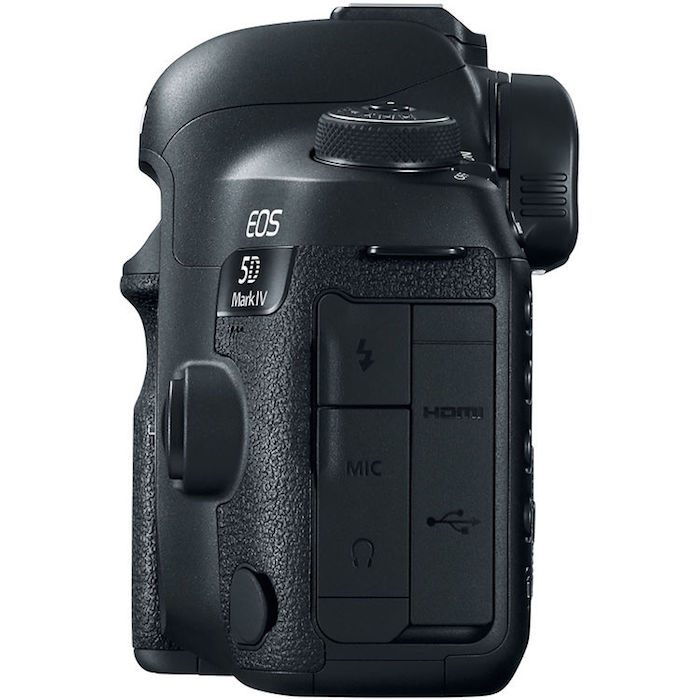 Canon 5D Mark IV ports