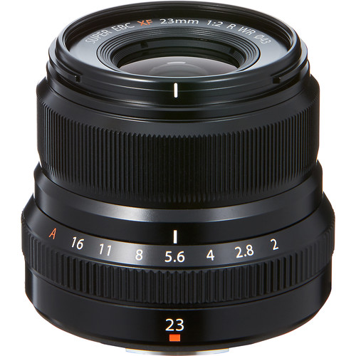 Fuji XF 23mm f2 R WR Lens