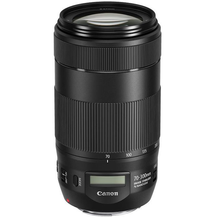 Canon's New EF 70-300mm f/4-5.6 IS II USM Lens Features Its Own LCD