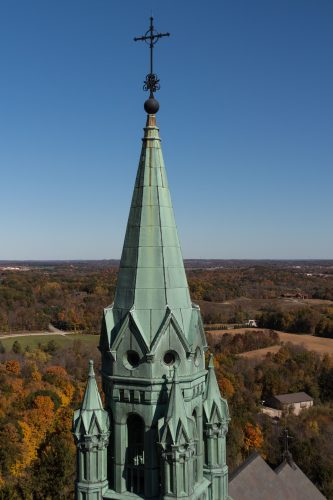 Holy Hill in the Fall | Copyright: Rose Clearfield