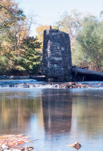 Long Exposure at Jacobus Park in the Fall | Copyright: Rose Clearfield
