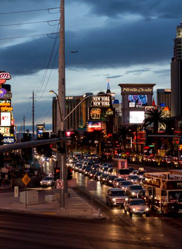 Las Vegas at Night, Copyright: Rose Clearfield
