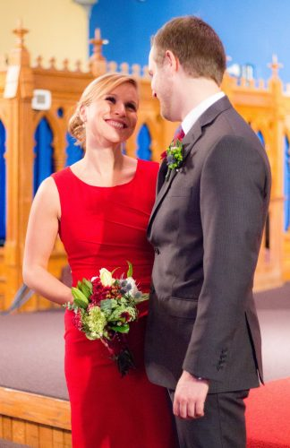 Couple at Wedding, Copyright: Rose Clearfield