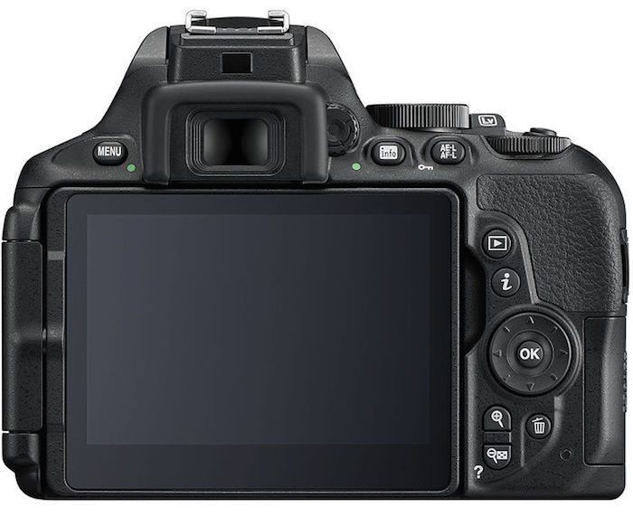 Nikon D5600 back