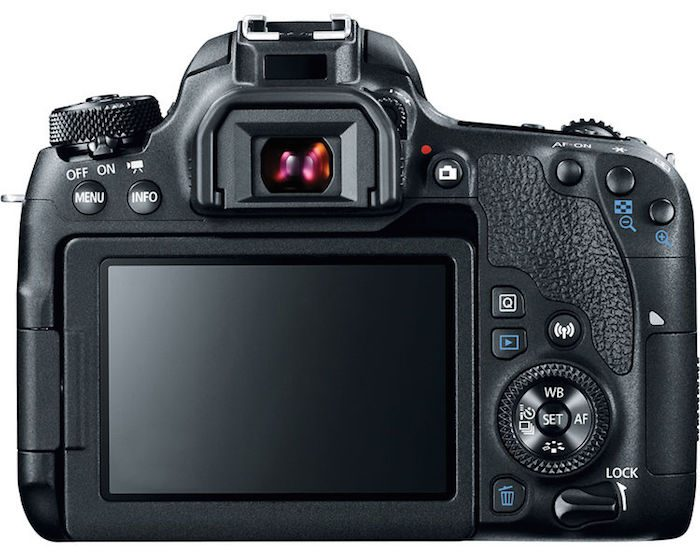 Canon 77D back