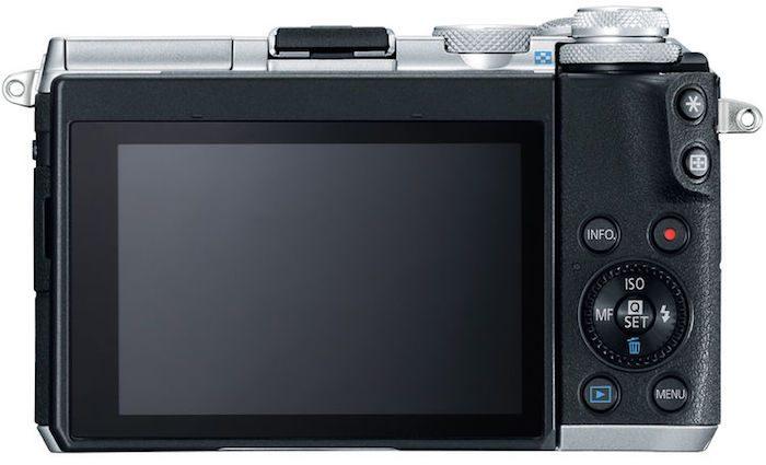 Canon EOS M6 back
