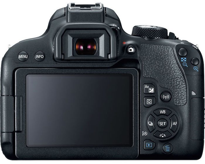 Canon Rebel T7i back