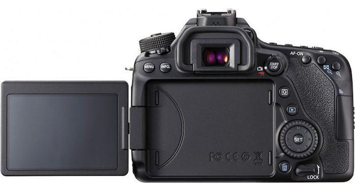 Canon 80D back