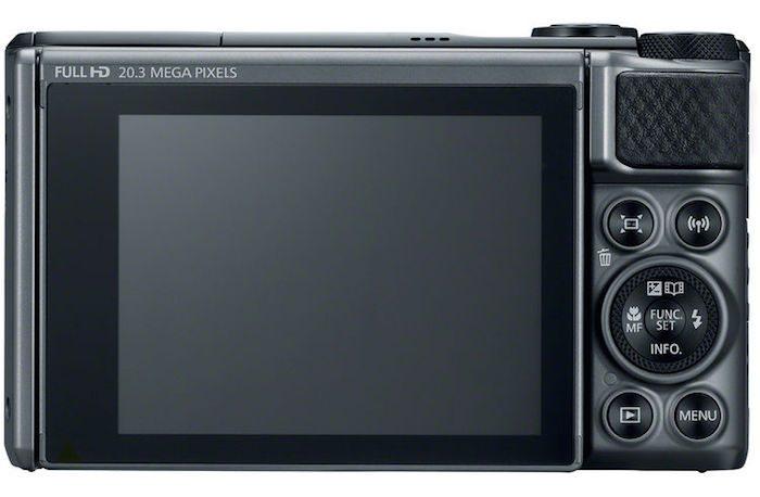 Canon PowerShot SX730 HS back