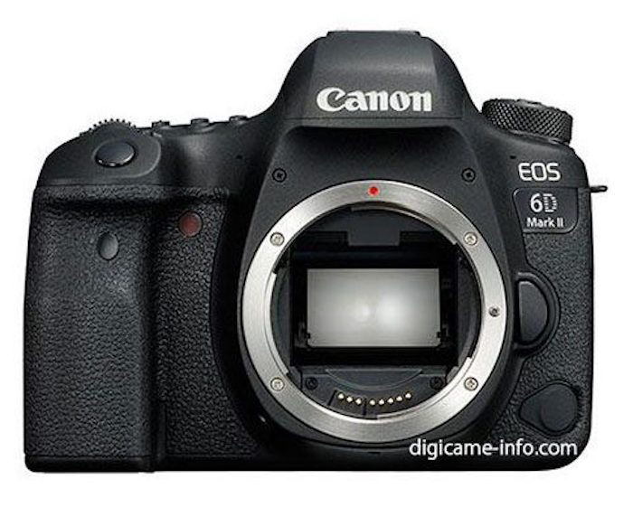 Leaked Photos of the Canon 6D Mark II