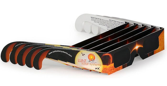Last Call for Solar Eclipse Glasses + Free Overnight Shipping