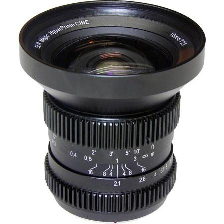 Deal: SLR Magic 10mm T/2.1 Hyperprime Cine Lens for $519