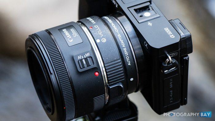 Vello Canon EF Lens to Sony E-Mount Camera Auto Lens Adapter Review