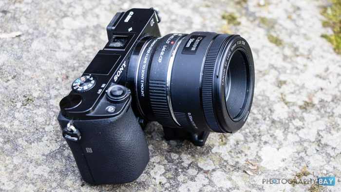 Vello Canon EF Lens to Sony E-Mount Camera Auto Lens Adapter