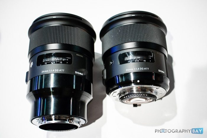 Sigma Art Lenses for Sony E-Mount Compared to Nikon/Canon Versions