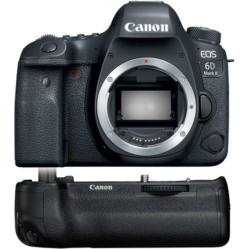 Deal: Canon 6D Mark II w/ BG-E21 Grip for $1599