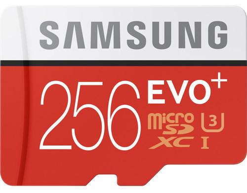Deal: Samsung 256GB EVO+ microSDXC Card for $85