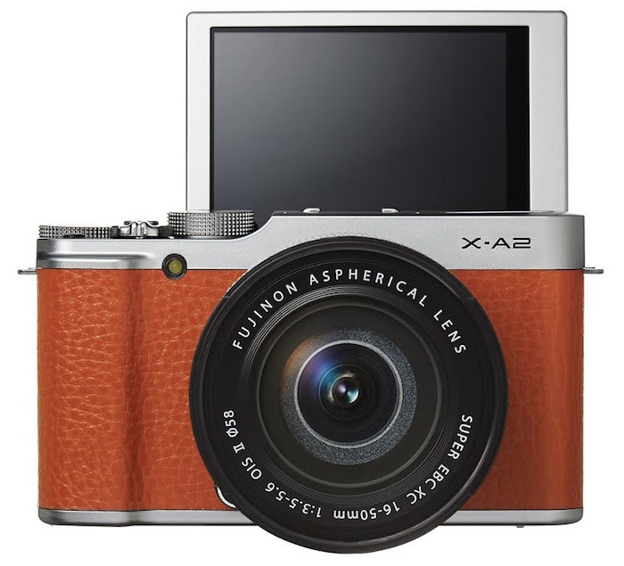 Fuji X A2 Mirrorless Camera With Two New X Series Lenses